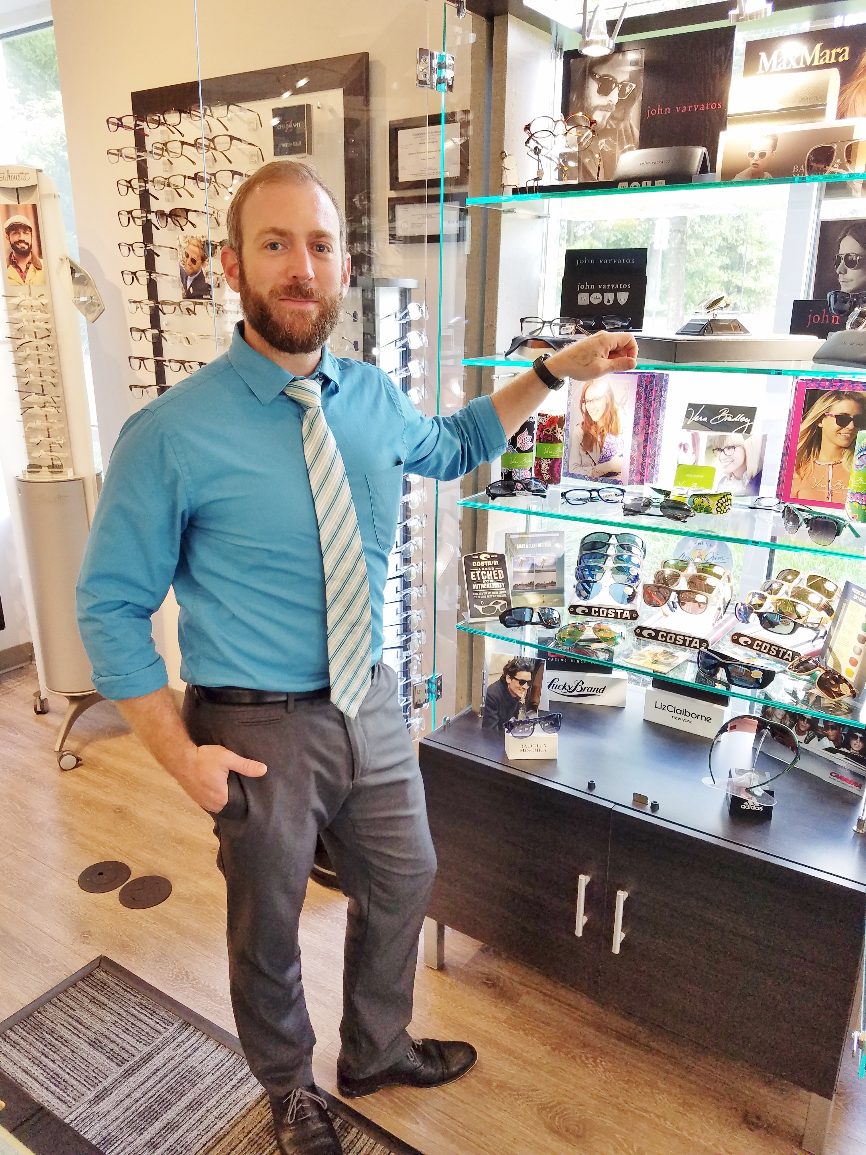 At Ridgefield Vision Center, we stock more than 800 frames personally selected by Mike so our patients enjoy a wide selection.
